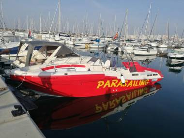 NUEVO BARCO PARACAIDAS / PARASAILING ORCA 10.400 Schifffahrt