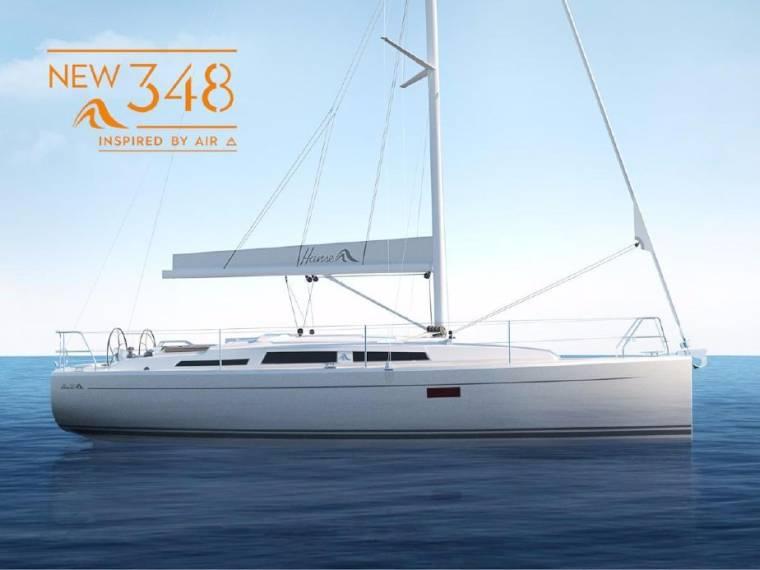 Hanse 348 Segelyacht