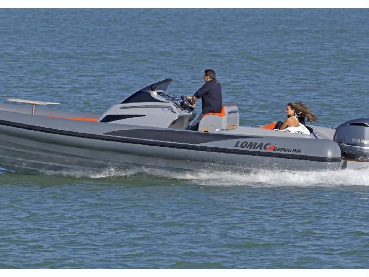 Lomac Adrenalina 9.5 Festrumpfschlauchboot