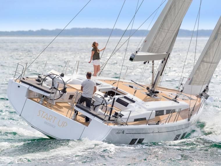 Hanse 548 Segelyacht