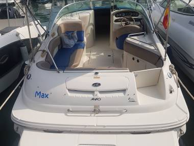 Sea Ray 240 Sundeck Remotorizada 2015