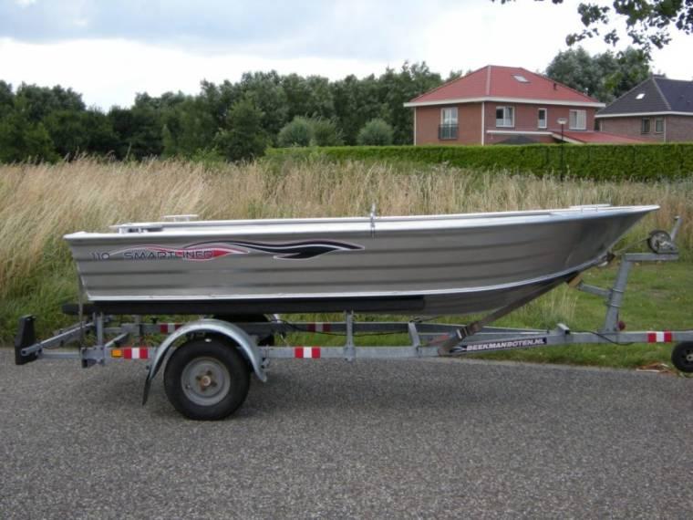 smartliner 110 aluminium in niederlande boote mit offenem deck gebraucht 50102 inautia