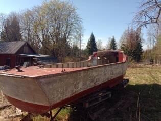 German aluminium 1937 pleasure boat