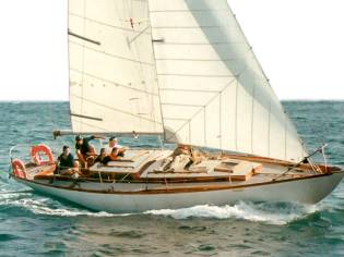 Maïca  RORC 38 Clásico madera  De Rovere