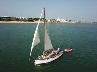 Custom River Clide Sailing Boat