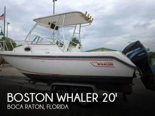 Boston Whaler 210 Conquest