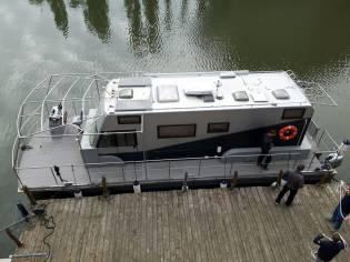 baltec hausboot in deutschland motorboote gebraucht. Black Bedroom Furniture Sets. Home Design Ideas
