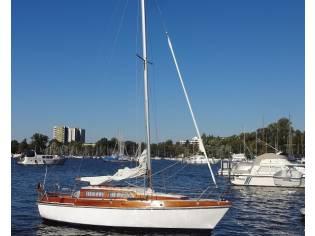sehr gepflegtes Segelboot Boddenkönig Klassiker