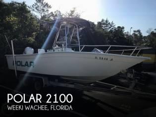 Polar 2100 center console