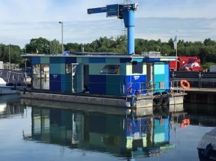 boatandfloat GmbH Brandenburg Fahrendes Hausboot