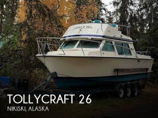 Tollycraft 26 Sedan