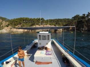 Custom passengers and snorkelling