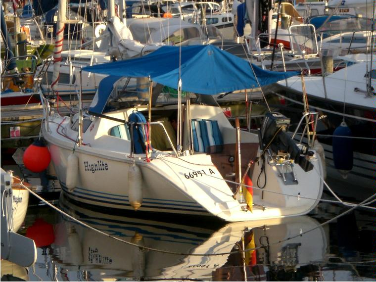 jeanneau sun way 21 in marina de denia