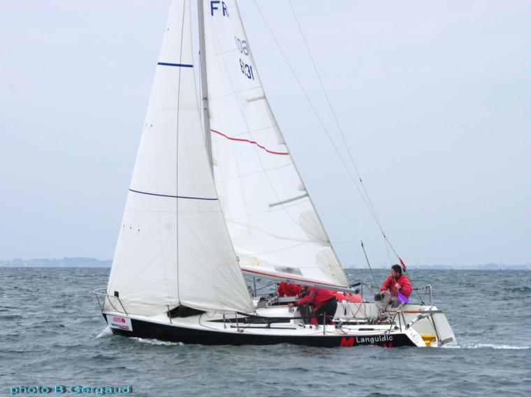 beneteau first class 8 in port de plaisance de lorient