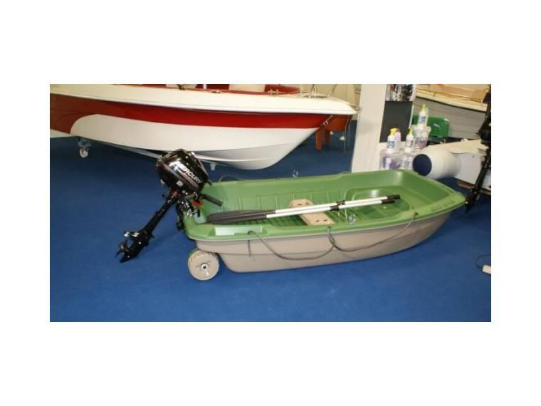 Ruderboot Angelboot BIC Sportyak 245 + 2,5 PS