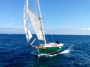 Catboat Herreshoff Eagle - cat boat