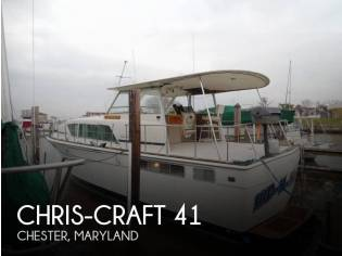 Chris-Craft 410 Commander