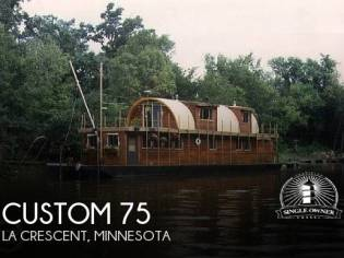 Custom 75 House Boat