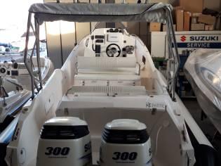 Gommone Zar 87 Well Deck 2x 300 Suzuki