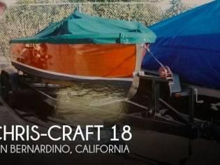 Chris-Craft Sportsman 18