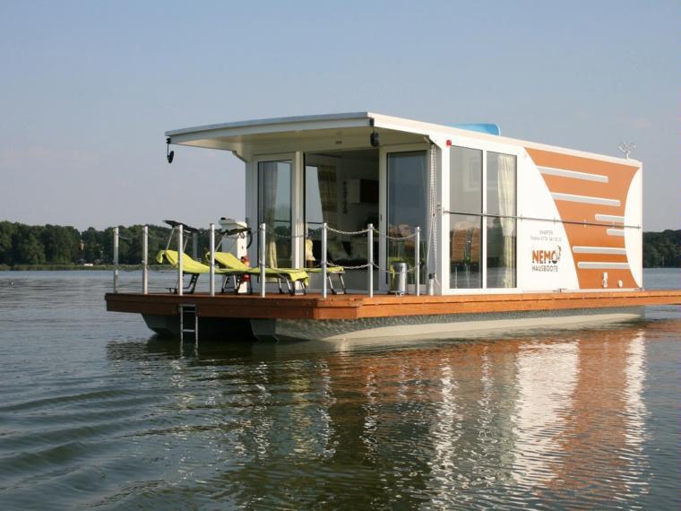 hausboot nemo verkauft in brandenburg motorboote. Black Bedroom Furniture Sets. Home Design Ideas
